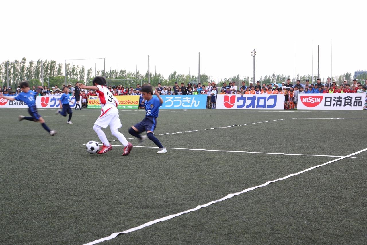 決勝戦は「グランセナ新潟FCジュニア」VS「ジェス新潟東SC」